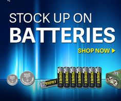 Hey Friends...Check out this site for the best selection of batteries, battery accessories, and chargers on the web!  http://www.thomasdistributing.com/