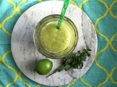 This minty pineapple smoothie is packed with good-for-you vitamins!! 'The Golden Rule'- The right combination of good-for-you ingredients will help get your system back on track. Here's why this smoothie is good for you.