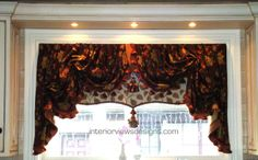 Multi layer valance with all the trimmings!!!