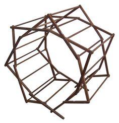 Hexagonal Wooden Clothes Drying Rack V #: 297251 Dimensions 91.4cm H X 91.4cm W X 61.0cm D