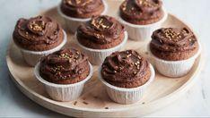 Mokkapalamuffinit - Yhteishyvä Mini Cupcakes, Food Inspiration, Cheesecake, Goodies, Food And Drink, Chocolate, Baking, Breakfast, Sweet