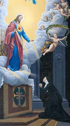 Aparições do Sagrado Coração de Jesus a Santa Margarida Maria Alacoque em Paray-le-Monial