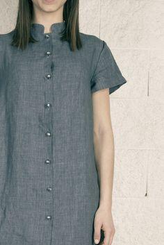Colección SS15 OHIO GIRLS by La Böcöque. Prendas creadas con mucho mimo en nuestro taller. 100% Made in Spain. Camisola Marnie Blue