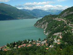Menaggio and Varenna, Lago di Como, in Nothern Italy.