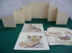 Zig-Zag Wild-Cats Safari Card by Sheila Weaver