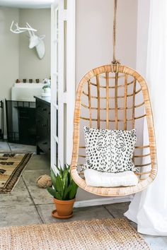 cute hanging chair