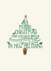 NOLA Christmas tree design
