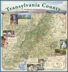 ( Don't forget to dig out my waterfalls maps and my county map )Transylvania County Tourism Development Map