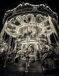 The night circus carousel