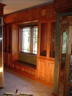 Cherry Kitchen Cabinets.