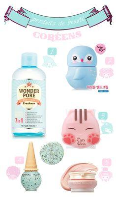 korean make up, produits de beauté coréen