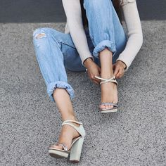 Saturday is the perfect day to try out your new heels.