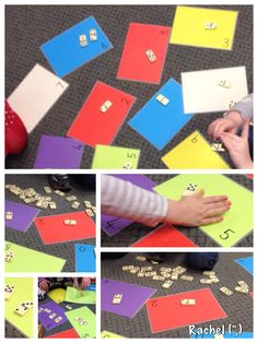 """Counting domino spots - from Rachel ("""",)"""