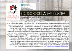 3D: DO CICEL Á IMPRESORA. MEMORIA DE TRABALLO