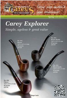 52 Best Carey's Pipes images in 2017 | Smoking, Pipes