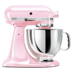 Pink KitchenAid, I WANT!