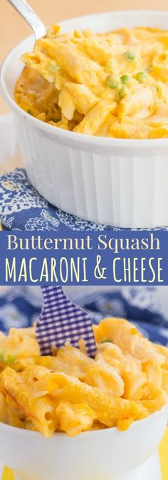 Butternut Squash Macaroni and Cheese - add some veggies to your ...