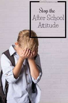 My child does great at school then comes home and gives me attitude, is�