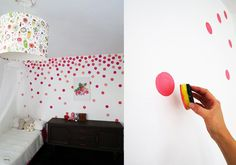 15 wall decor ideas for a child& room - Spread peas on the wall Best Picture For ideas escuela For Your Taste You are looking for somethi -