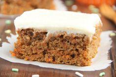Pumpkin carrot cake.