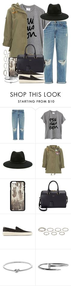 """""""Sin título #3968"""" by hellomissapple on Polyvore featuring moda, rag & bone, Sincerely, Jules, Forever 21, Topshop, Yves Saint Laurent, Akira y Michael Kors"""