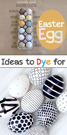 Easter Egg Ideas to Dye for- Easter egg dye and coloring ideas including all natural easter egg dye, glow in the dark and other creative easter egg coloring ideas