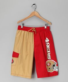 49ers Swim Trunks by Game On: NFL Apparel & Accessories on #zulily today!
