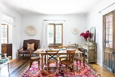 One of the things that attracted Dee to this two-bedroom Creole cottage were the original details, like the French doors, which remained in tact.