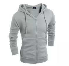 Mens Jacket 2017 Spring New Arrival Casual Hoodies Jacket Men Patchwork Slim Fashion Work Mens Jackets And Coats Hoodie Sweatshirts, Woolen Clothes, New Mens Fashion, Winter Fashion, Men's Fashion, Fashion Trends, Basic Hoodie, Jacket 2017, Winter Hoodies