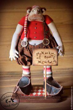 Купить Унылое бревно - авторская игрушка, интерьерная игрушка, прикольный, забавный, смешной подарок, смешной