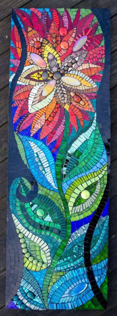Colour has always been at the heart of every piece of artwork I have ever created from simple drawings to my most elaborate mosaic pieces. Mosaic Artwork, Mosaic Wall Art, Mosaic Diy, Mosaic Crafts, Mosaic Projects, Mosaic Glass, Mosaic Ideas, Mosaic Mirrors, Fused Glass