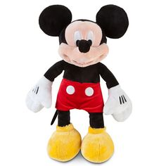 Mickey Mouse Plush - Small - 12''
