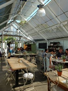 Brunch: Quince Tree Cafe @ Clifton Nurseries 5A Clifton Villas, London W9 2PH