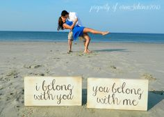 We Belong Together Hand Painted Wood, Etsy @Hilary S Joyce