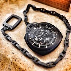 Panerai PAM00446 Ceramic Tourbillon pocket watch