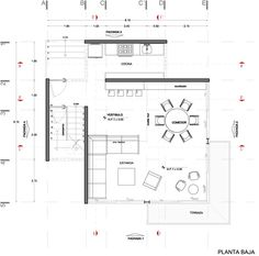Chipicas Town Houses,Ground Floor Plan