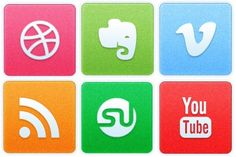 Clean Noise Social Icons - Artwork by Creative Nerds Social Network Icons, Social Icons, Cool Artwork, Nerd, Kids Rugs, Free Icon, Creative, Box, Snare Drum