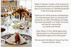 #Catholic #Thanksgiving Prayer