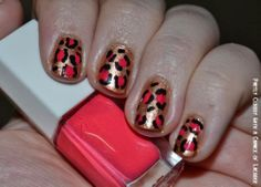 Partly Cloudy With a Chance of Lacquer: FingerFood's Theme Buffet Week 1 - Animal Print