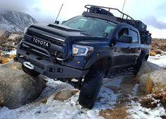 """Pluto, Spvrtan's Tundra build (Instagram: """"spvrtan"""") - Imgur Jeep Truck, Truck Camper, 2006 Tundra, Best Off Road Vehicles, Truck Mods, Off Road Adventure, Toyota Trucks, Futuristic Cars, Toyota Tundra"""