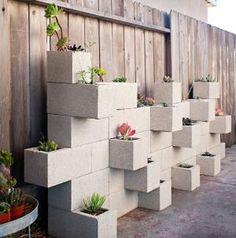 Cinder block garden by brandy