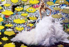 Graffiti Couture by Mario Sorrenti