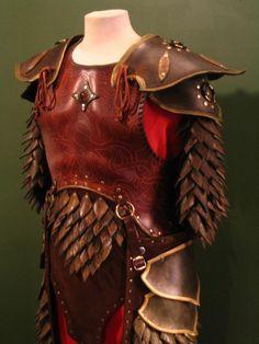 Elven swordsinger armor by ~Flacusetarhadel on deviantART