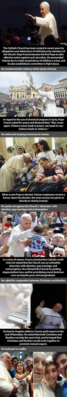 Why Pope Francis is the Person of the Year...