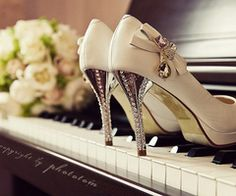I love shoes and I love the piano! perf combo.