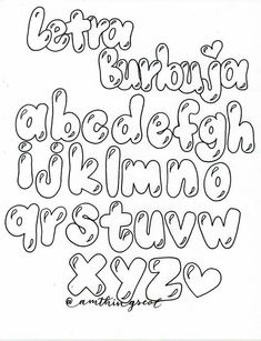 Graffiti Lettering Alphabet, Doodle Lettering, Art Deco Font, Font Art, Pretty Fonts, Cool Fonts, Bullet Journal Art, Lettering Tutorial, Hand Type