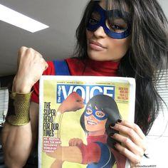 Muslim American superhero Kamala Khan has become a real-world protest icon - Vox
