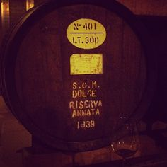 Drinking #Marsala from 1939 at Cantine Florio. #Sicily