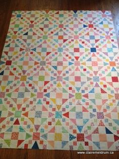 vintagestylequilt. Claire Meldrum. Emily's Wedding Quilt from Fons and Porter Lover of Quilting May/June.