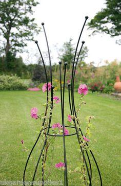 1.65m high Quirky Design Garden Obelisk / Garden Climbing Plant Obelisks | eBay